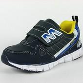 100-05-66 Детская спортивная обувь для мальчиков, цвет-темно синий, ТОМ.М, размер 26-31