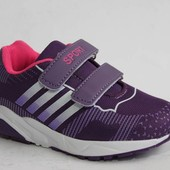 Солнце арт. W511-2 фиолетовый Кроссовки для девочек.