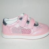 ТОМ М арт.1082А pink Кроссовки для девочек.