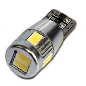 Светодиодная лампа W5W с обманкой