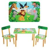 Новинка!Столик детский с двумя стульчиками 501