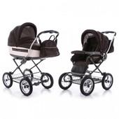 универсальная детская коляска Roan Marita Lux b-SK цвет коричневый
