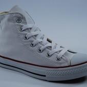 Converse All Stars White Высокие