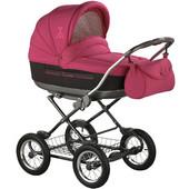 универсальная коляска Roan Marita Lux SC-05 цвет вишневый