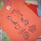 Palomino майка футболка для девочки 4-5 лет (104-110)