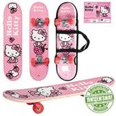 Hello Kitty скейт с алюминиевой подвеской 0052