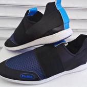 Кроссовки Лето GSL сетка синие