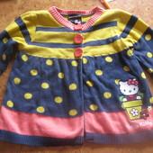 Кофта на пуговицах Hello Kitty