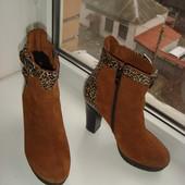 деми ботиночки на высоком каблуке 10, 5 см. Размер 37