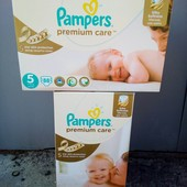 Памперси премиум Каре мегабокси Pampers Premium Care Польша