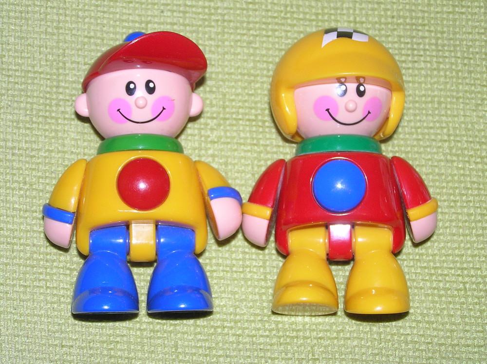 Игрушки-трещетки tolo, кубики fisher prise фото №1