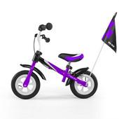 Беговел Milly Mally Dragon Deluxe Violet цвет фиолетовый, надувные колёса