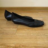 Roberto Santi р.37.5 туфлі балетки  шкіра