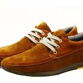 Туфли Gekon 54 Comfort, р. 40,42,43,45, натур. замша, код kv-2964