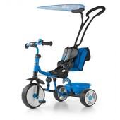 Велосипед 3х колёсный M.Mally Boby Deluxe 2015 с подножкой (blue)