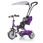 Велосипед 3х колёсный детский M.Mally Boby Deluxe 2015 с подножкой (violet)