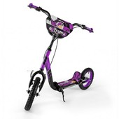 Самокат Milly Mally Crazy Extreme (violet) колёса надувные