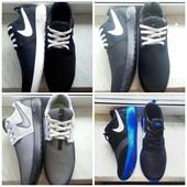 Кроссовки Nike Roshe Run 40-45 размеры (4 Цвета!)