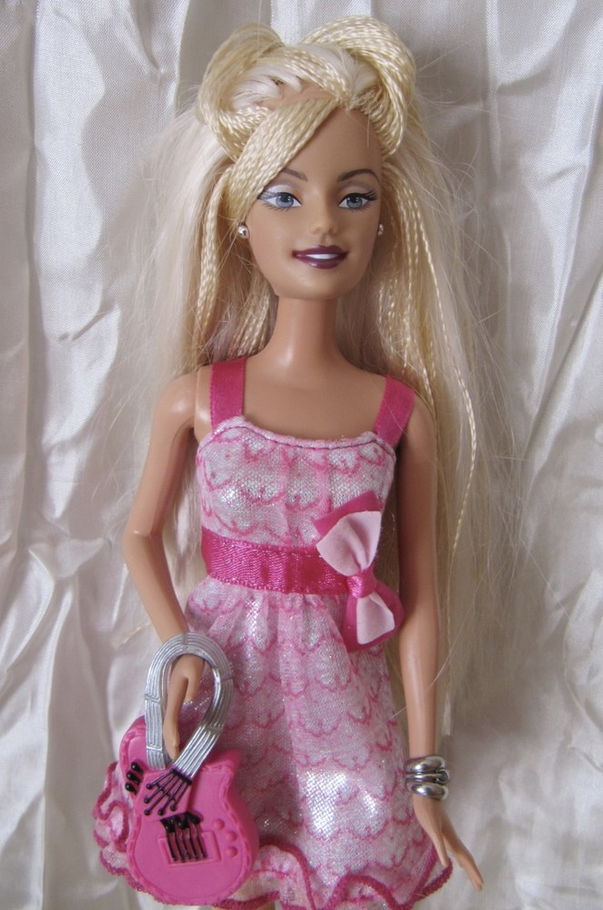 Кукла барби с шикарной прической mattel фото №1