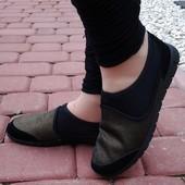 Мокасины без шнуровки Т096