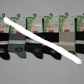 Носки мужские с лайкрой Z&N Бамбук, с гладким кетельным швом.асорти
