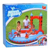 Бассейн-игровой центр интерактивный с душем 53037