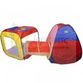 Палатка игровая с тоннелем , 310х92х110 см.