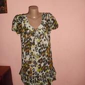 туника,блуза Next р-р 12,цвет насыщенный