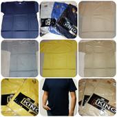 новая мужская футболка желтая,темно-синяя, серая, бежевая 100% хлопок