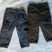 Утепленые штаны на подкладке h&m, р. 92