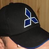 Стильна  бейсболка кепка  Mitsubishi.