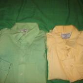 Рубашки,разм по вороту-51,48 и 46(р.54,58-60).Одна на выбор,кроме жёлтой.