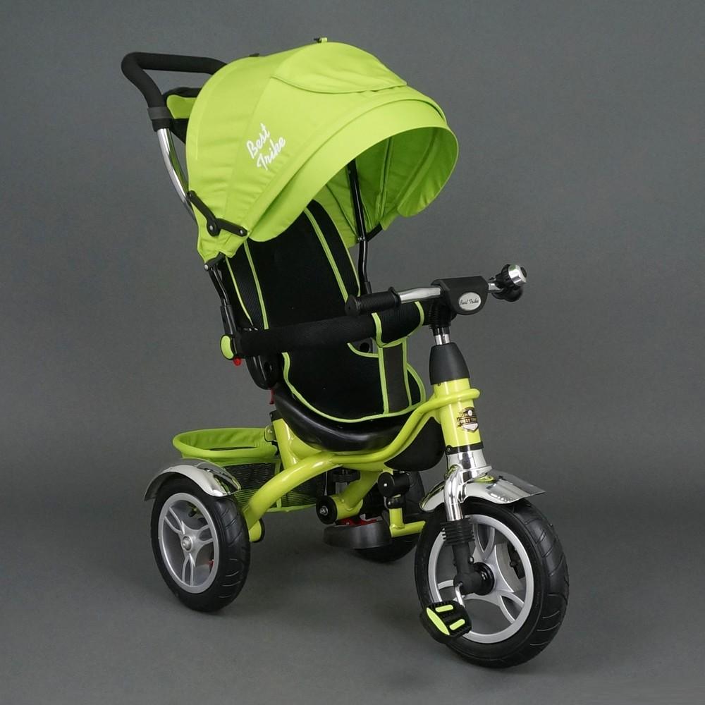 Трехколесный велосипед Best Trike 5388 надувные колеса фото №1