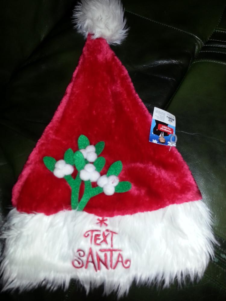 Новогодняя шапка фото №1