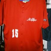 AllStar № 15 рубашка made in Italy M-L полиэстер