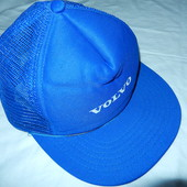 Классная летняя кепка Volvo,цвет синий ,новая