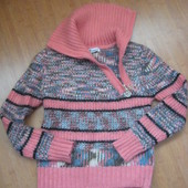 Кофта свитер махеровый 42-44 р.
