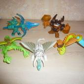 Игрушки  Макдональдс дракон смурфики барби енгри бед тролли миньен марио и др