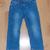 Стильные джинсы Next для девочки 18-24 месяцев, 86-92 см