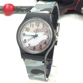 27 Детские наручные часы - цвет серый