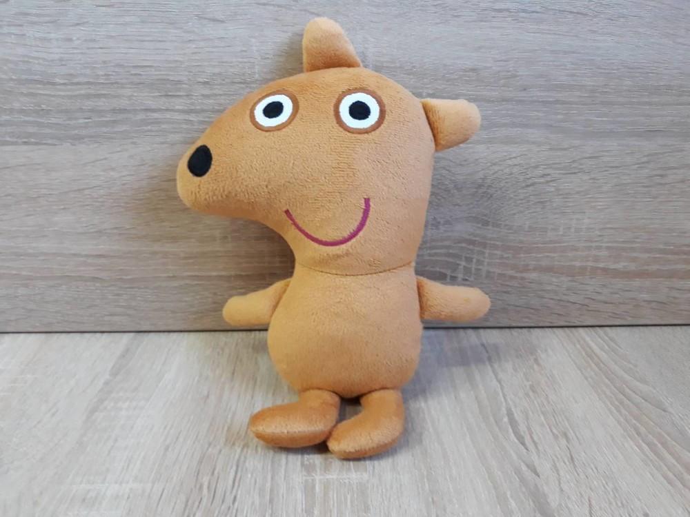 Мягкая игрушка мишка тедди свинки пеппы, ручная работа фото №1