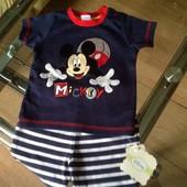 Mothercare футболка и шорты, новые