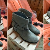Стильные кожаные ботинки-ковбойки Faith, р-р 41-41,5