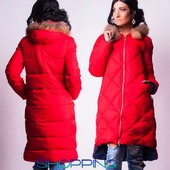 Стильная зимняя куртка парка