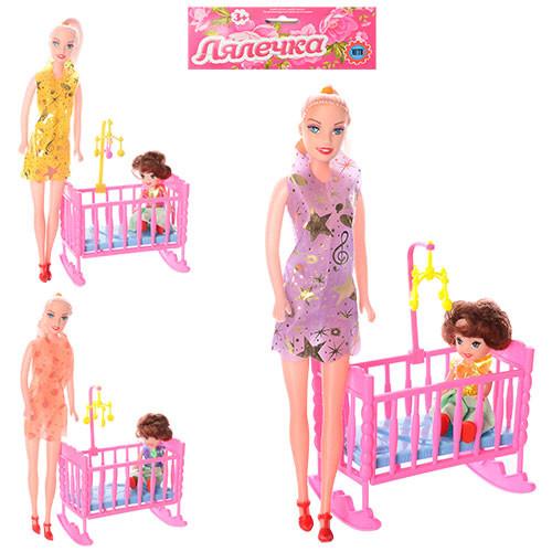 Кукла 339-2 с кроваткой фото №1