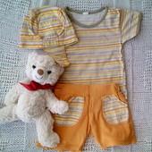 Комплект летний футболка и шорты 86р