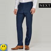 Новые легкие зауженные брюки Next р. 32 L. сток