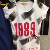 Летние футболочки 1989, распродажа коллекции 2016