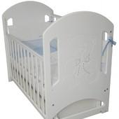 Детская кроватка Соня ЛД 8 маятник 2 цвета