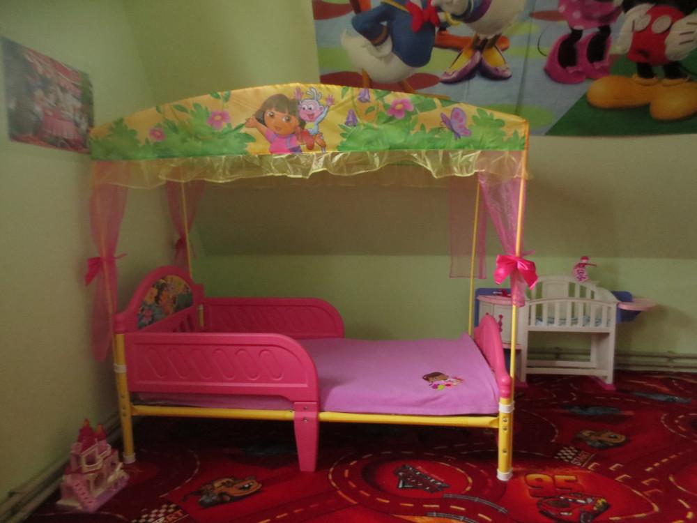 Красивая детская кроватка disney princes америка для девочки от 1годика до 6лет. в наличии!!! фото №1